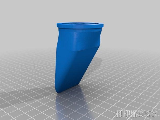 尼康闪光灯扩散器 3D模型  图4