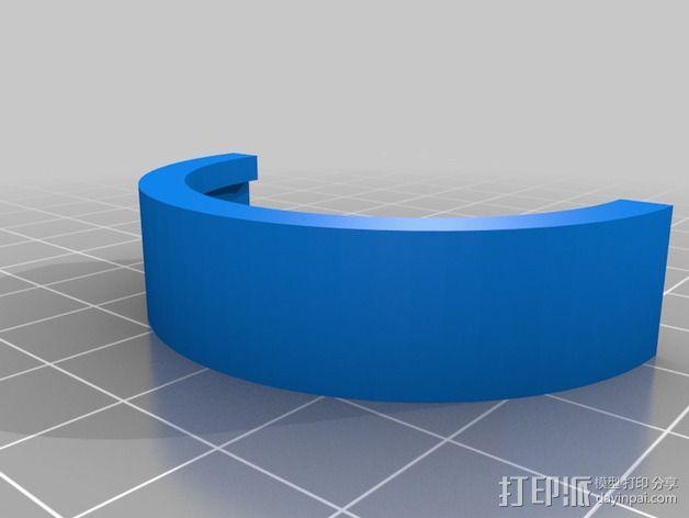 尼康闪光灯扩散器 3D模型  图3