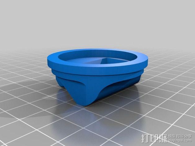 尼康闪光灯扩散器 3D模型  图5