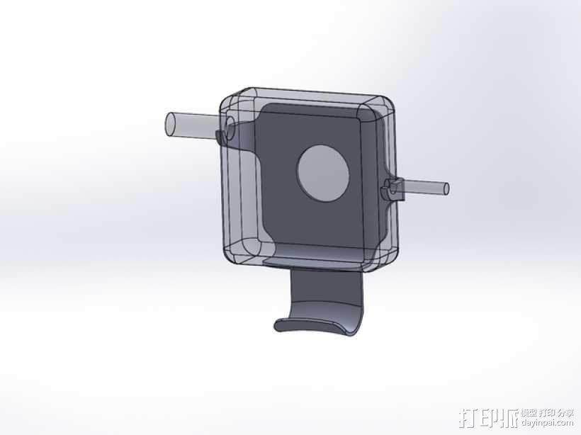 苹果充电座 3D模型  图4