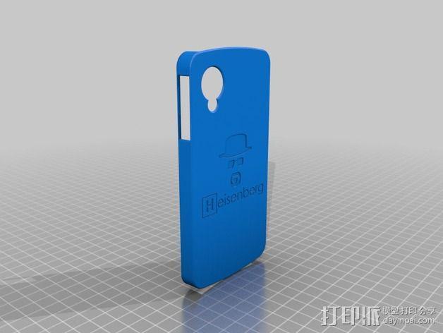 Nexus 5手机壳 3D模型  图2