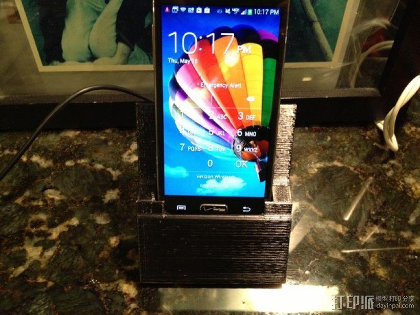Samsung Galaxy S4手机座 3D模型  图1