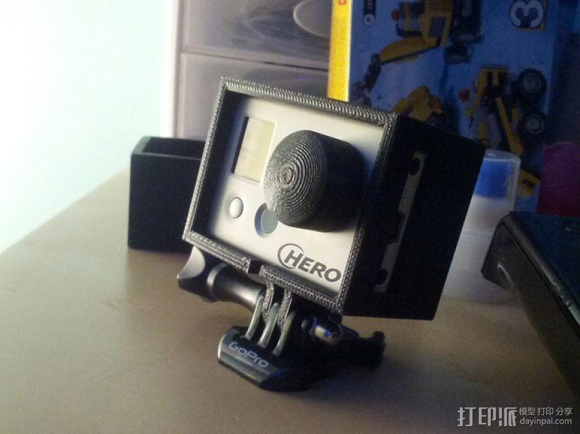 Hero 1 & 2外壳 3D模型  图1