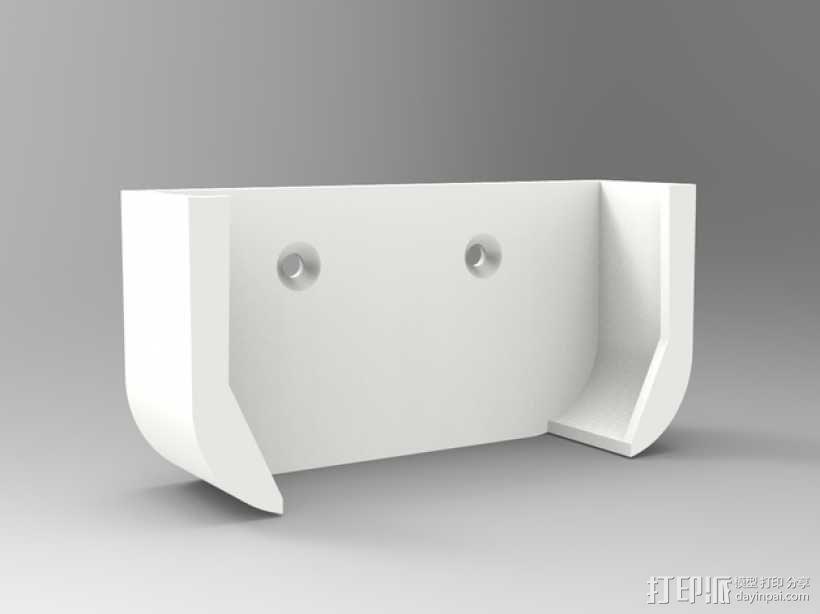 Apple 墙面挂载 3D模型  图1