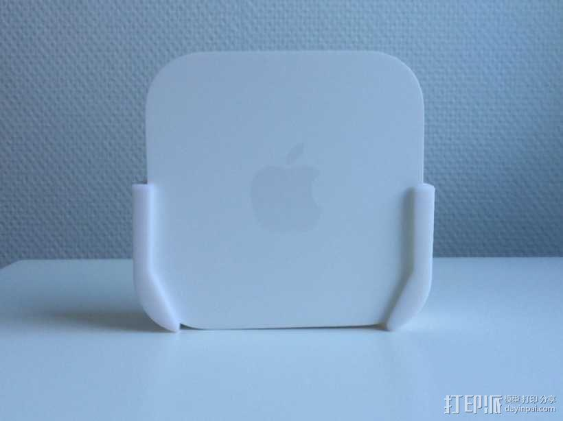 Apple 墙面挂载 3D模型  图2