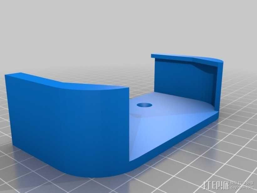 Apple 墙面挂载 3D模型  图4