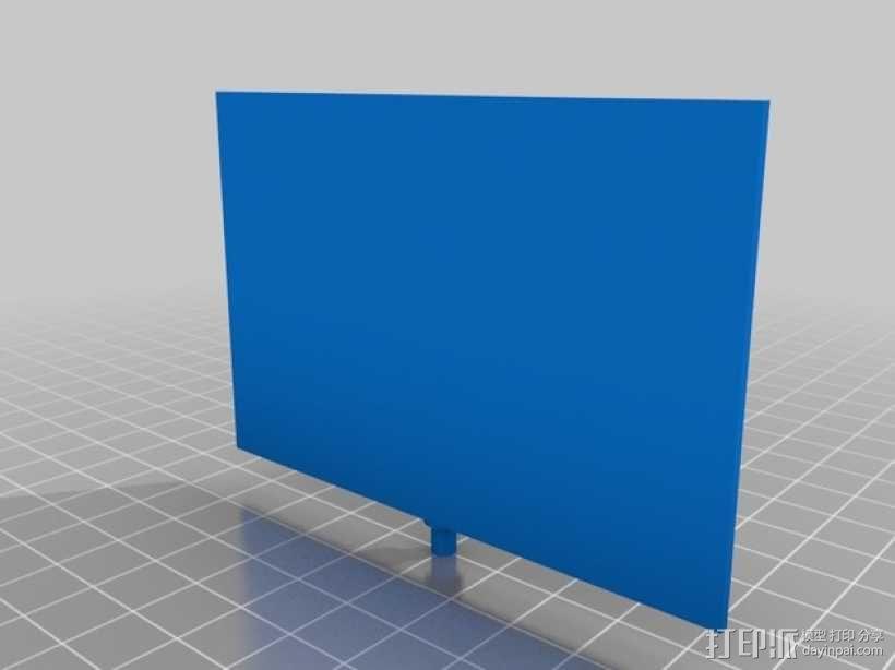反光板 3D模型  图2