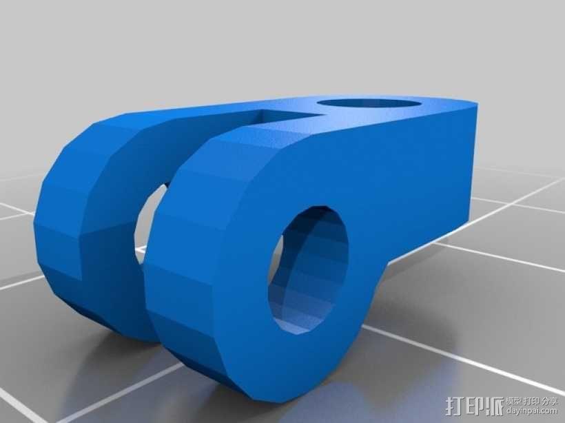 反光板 3D模型  图4