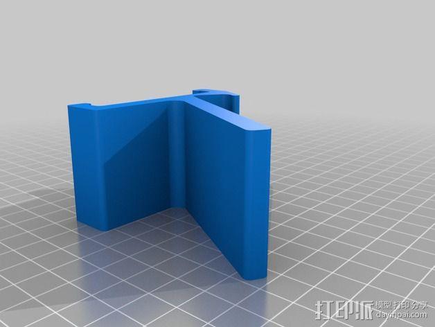旅行迷你手机座 3D模型  图2