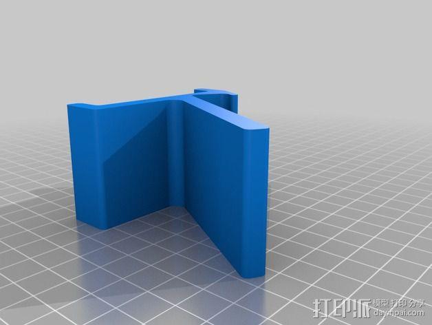 旅行迷你手机座 3D模型  图3