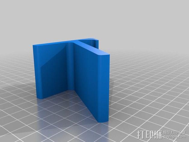 旅行迷你手机座 3D模型  图4