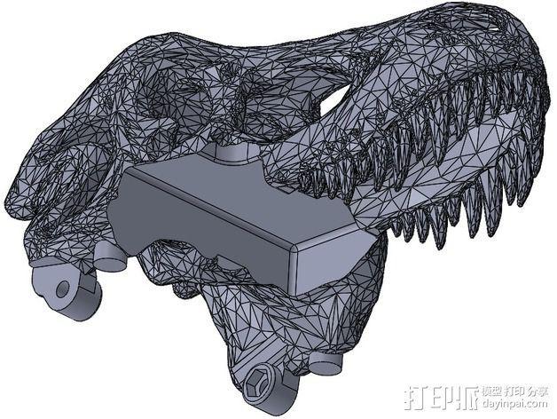恐龙相机外壳 3D模型  图5