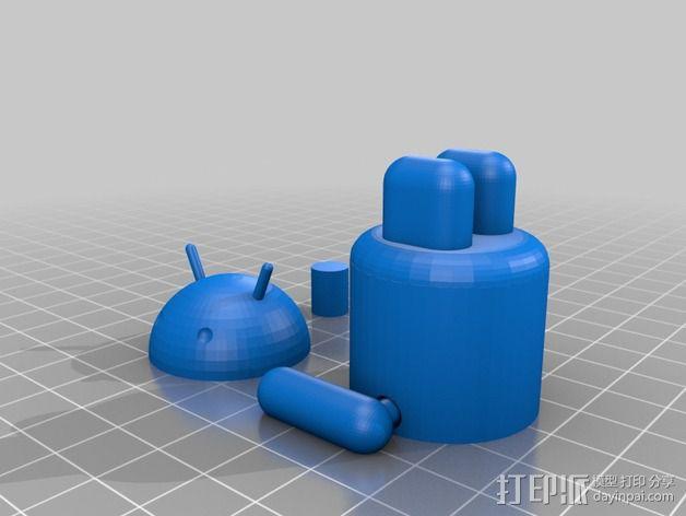 安卓小人 3D模型  图2