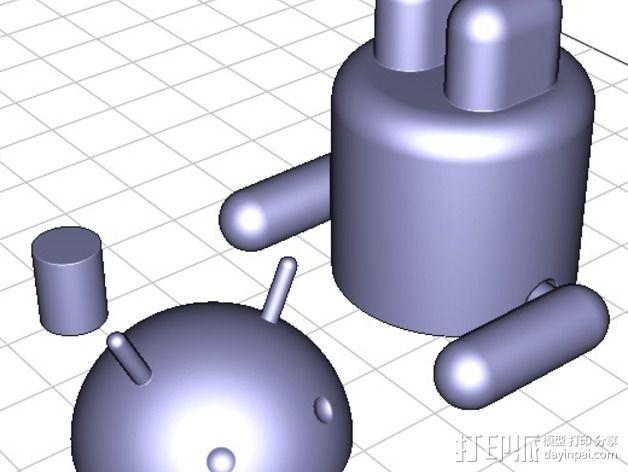 安卓小人 3D模型  图3
