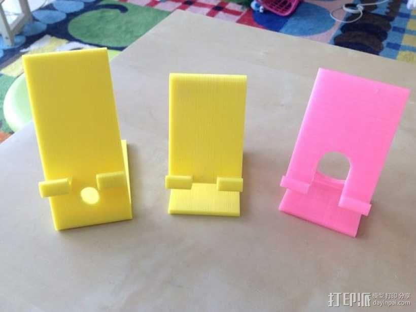 手机/ipad 支架 3D模型  图4