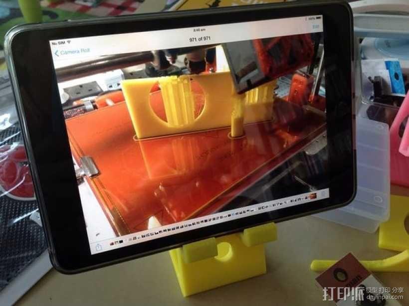 手机/ipad 支架 3D模型  图3