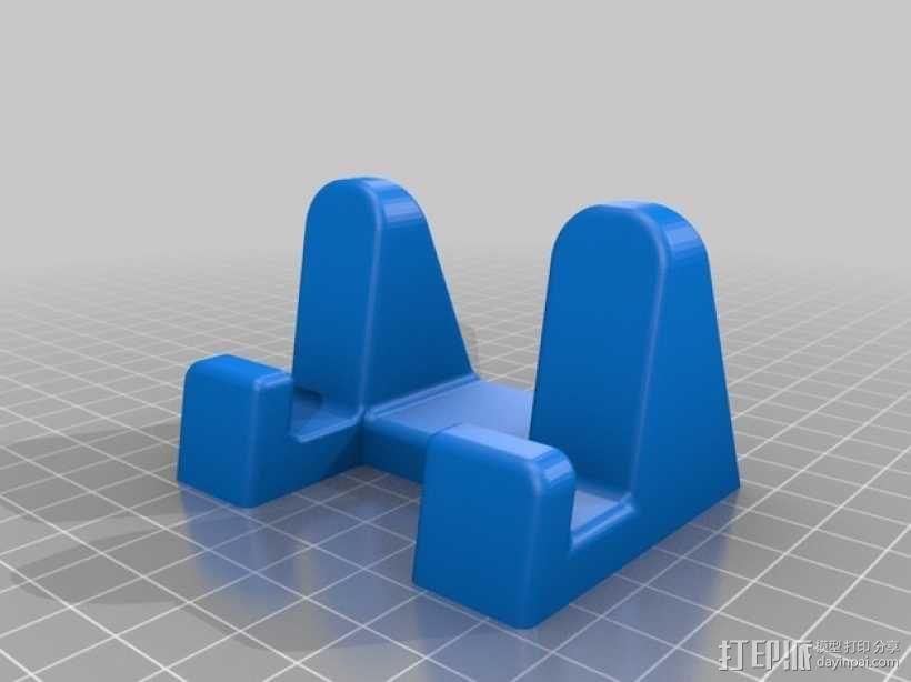 平板电脑座 3D模型  图2
