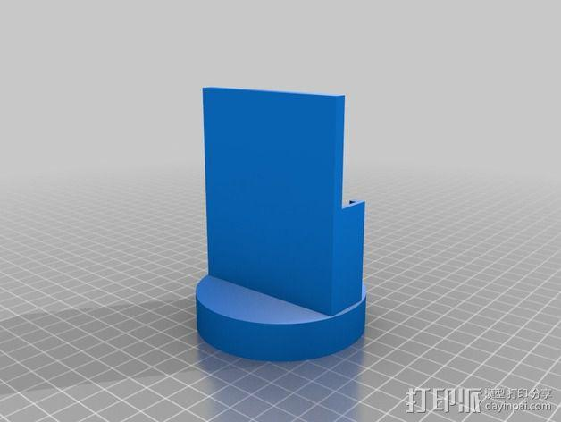 杯座形手机座 3D模型  图2