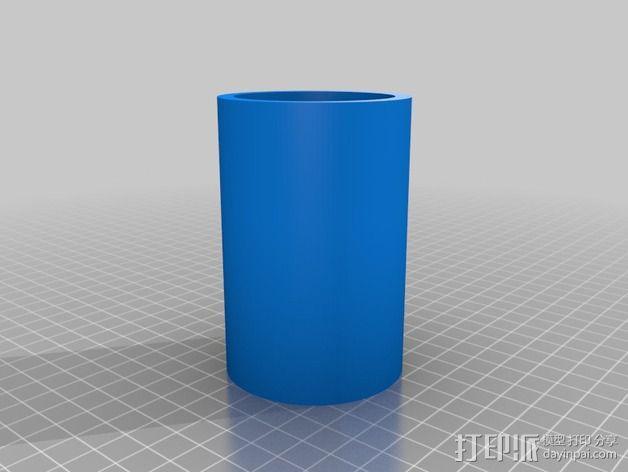杯座形手机座 3D模型  图3