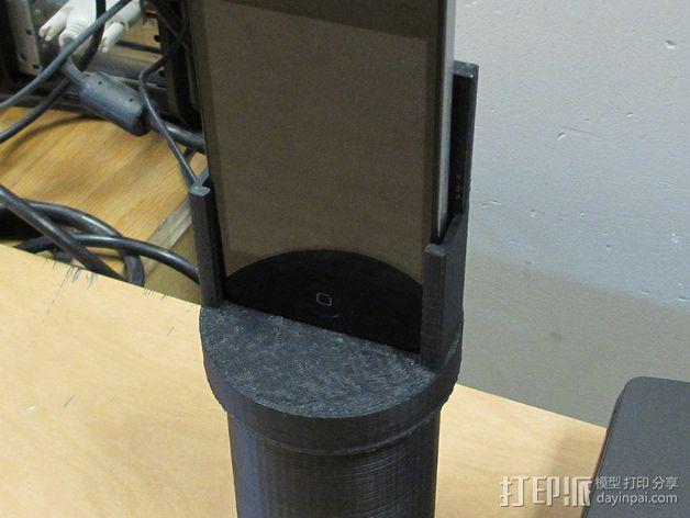 杯座形手机座 3D模型  图5