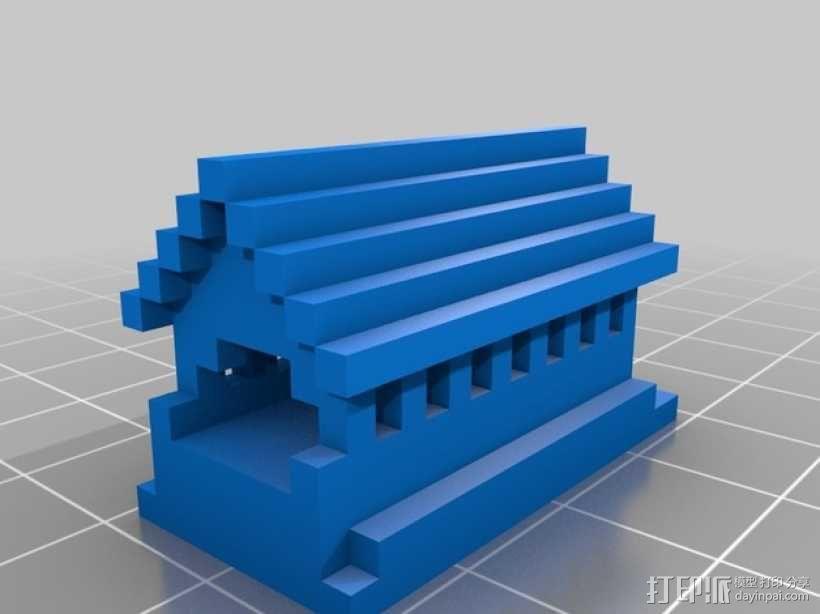 房子摆件 3D模型  图1