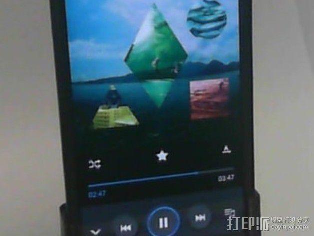 Galaxy S4扬声器 3D模型  图1