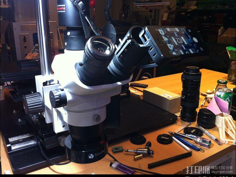 iPhone 5 奥克林巴斯显微镜 3D模型  图1