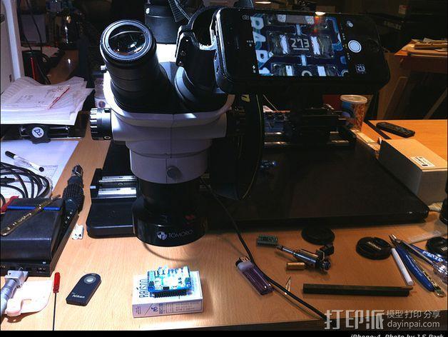 iPhone 5 奥克林巴斯显微镜 3D模型  图2