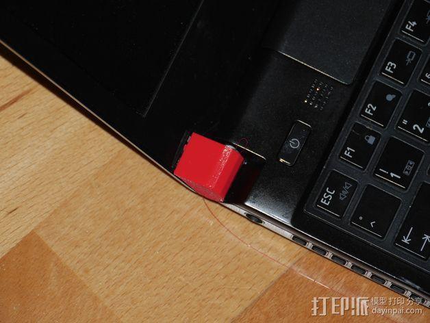 东芝电脑保护角 3D模型  图2