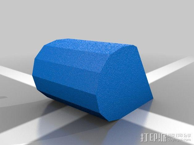 东芝电脑保护角 3D模型  图3