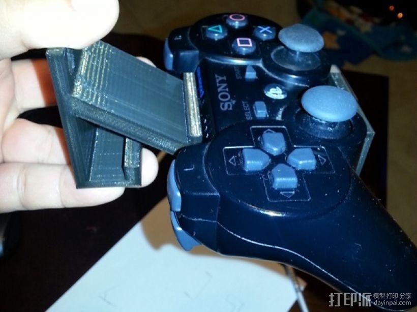 游戏机支架 3D模型  图1