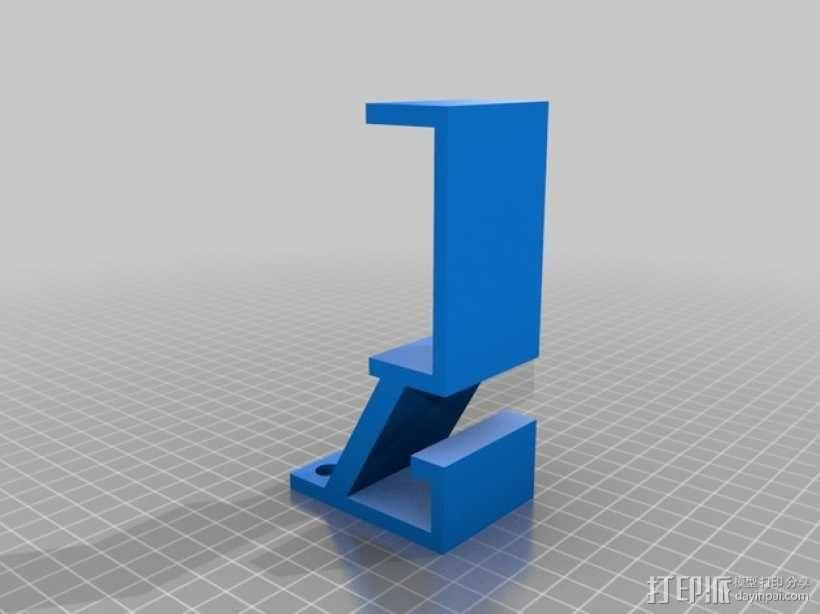 游戏机支架 3D模型  图2