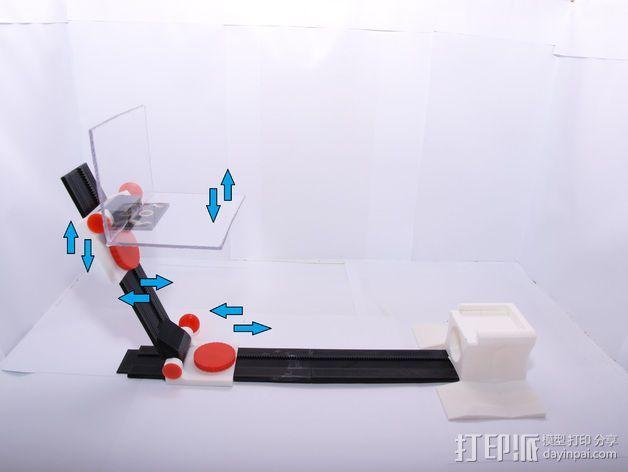 小型工作室 3D模型  图2