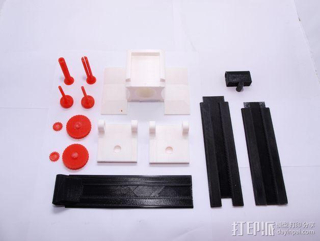 小型工作室 3D模型  图7