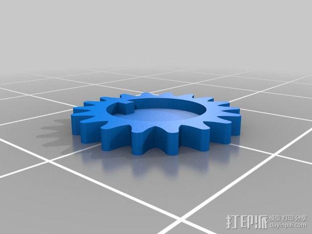 小型工作室 3D模型  图11