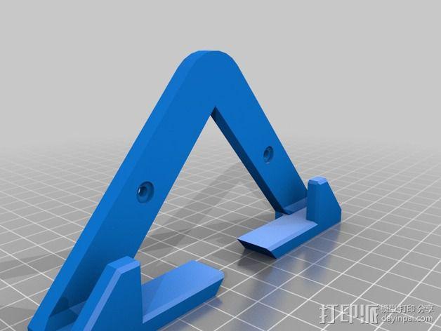 平板电脑壁挂 3D模型  图2