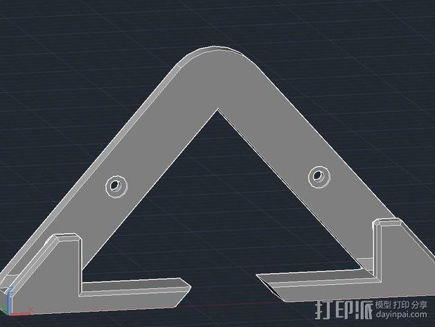 平板电脑壁挂 3D模型  图8