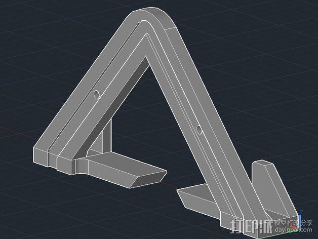 平板电脑壁挂 3D模型  图7