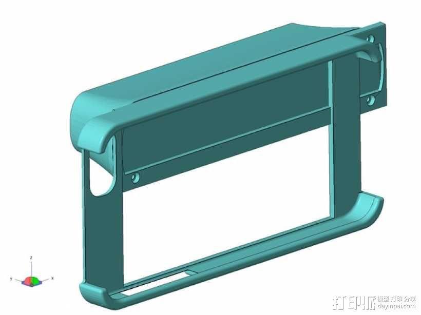 iPhone 5S扫描架 3D模型  图1