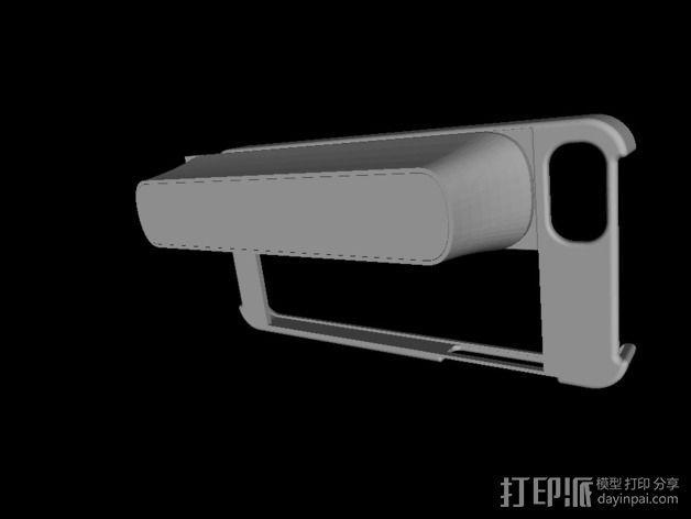 iPhone 5S扫描架 3D模型  图3
