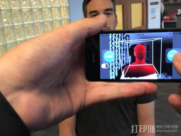 iPhone 5S扫描架 3D模型  图6