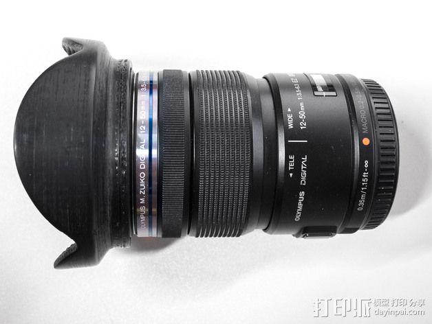相机镜头 3D模型  图2