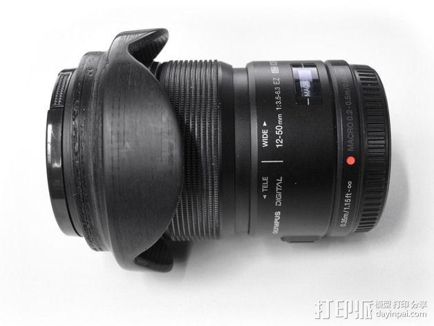 相机镜头 3D模型  图3