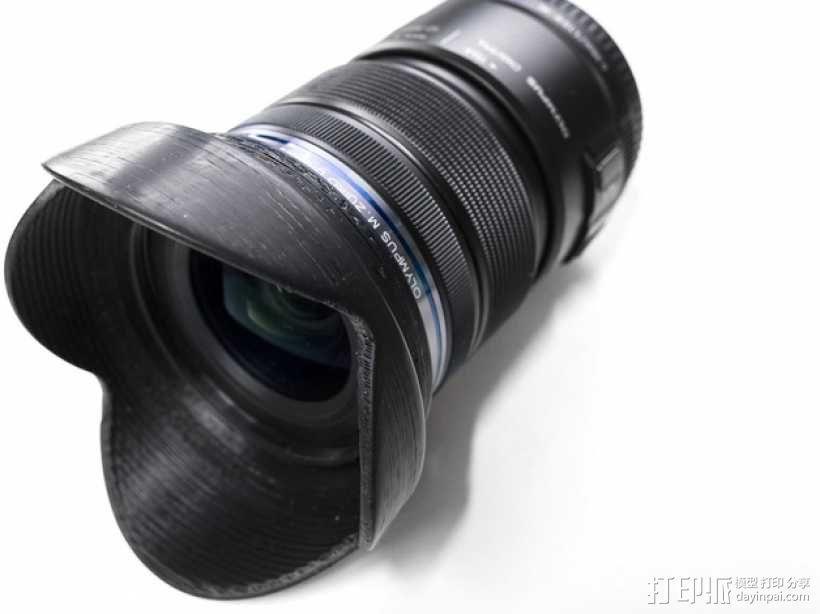 相机镜头 3D模型  图1