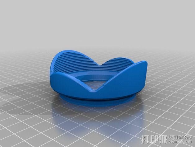 相机镜头 3D模型  图4