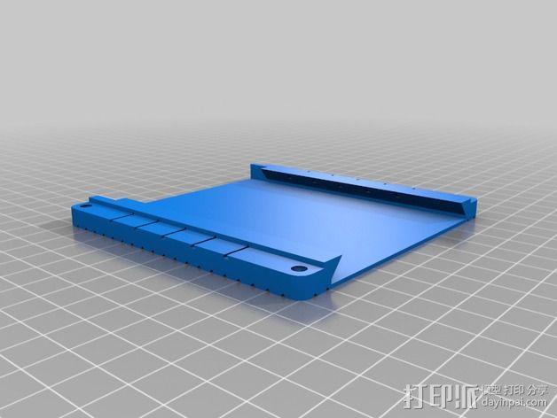 芯片架 3D模型  图2