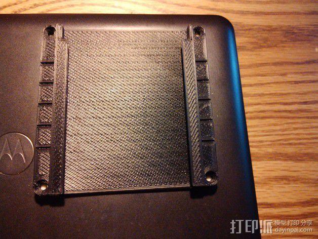 芯片架 3D模型  图1