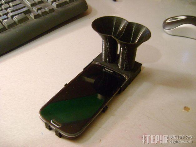 Samsung Galaxy S3 扩音器 3D模型  图8