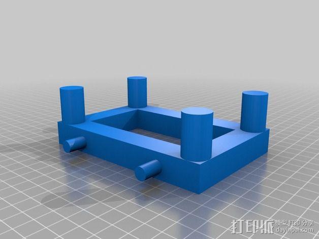 散热器 3D模型  图4