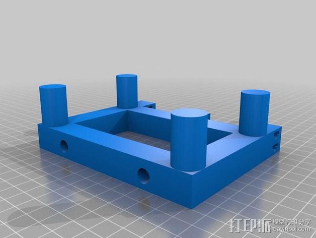 散热器 3D模型  图3